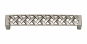 Atlas Homewares - 311-BRN - Lattice Pull 128 MM CC - Brushed Nickel