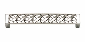 Atlas Homewares - 311-PN - Lattice Pull 128 MM CC - Polished Nickel