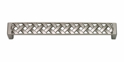 Atlas Homewares - 312-BRN - Lattice Pull 160 MM CC - Brushed Nickel