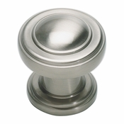Atlas Homewares - 313-BRN - Bronte Round Knob - Brushed Nickel