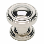 Atlas Homewares - 313-PN - Bronte Round Knob - Polished Nickel