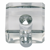 Atlas Homewares - 3145-CH - Optimism Square Knob - Polished Chrome