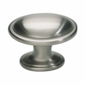 Atlas Homewares - 316-BRN - Austen Oval Knob - Brushed Nickel