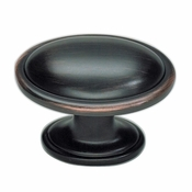 Atlas Homewares - 316-VB - Austen Oval Knob - Venetian Bronze