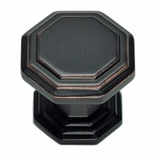 Atlas Homewares - 319-VB - Dickinson Octagon Knob - Venetian Bronze