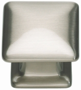 Atlas Homewares - 322-BRN - Alcott Square Knob - Brushed Nickel