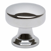 Atlas Homewares - 325-CH - Browning Round Knob - Polished Chrome