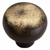 Atlas Homewares - 331-ABZ - Distressed Round Knob - Antique Bronze