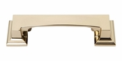 Atlas Homewares - 339-FG - Sutton Place Cup Pull 3 Inch (c-c) - French Gold