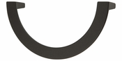 Atlas Homewares - 355-BL - Roundabout Pull 128 MM CC - Matte Black