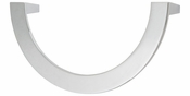 Atlas Homewares - 355-CH - Roundabout Pull 128 MM CC - Polished Chrome