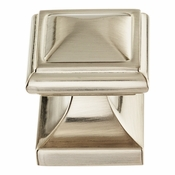Atlas Homewares - 370-BRN - Wadsworth Knob 1 1/4 Inch - Brushed Nickel