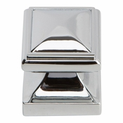 Atlas Homewares - 370-CH - Wadsworth Knob 1 1/4 Inch - Polished Chrome
