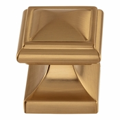 Atlas Homewares - 370-WB - Wadsworth Knob 1 1/4 Inch - Warm Brass