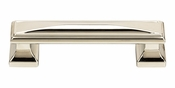 Atlas Homewares - 372-PN - Wadsworth Pull 3 3/4 Inch - Polished Nickel