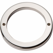 Atlas Homewares - 390-PN - Tableau Round Base 2 1/2 Inch - Polished Nickel