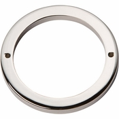 Atlas Homewares - 391-PN - Tableau Round Base 3 Inch - Polished Nickel