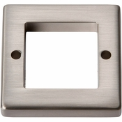 Atlas Homewares - 392-BN - Tableau Square Base 1 7/16 Inch - Brushed Nickel