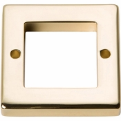 Atlas Homewares - 392-FG - Tableau Square Base 1 7/16 Inch - French Gold