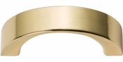 Atlas Homewares - 396-FG - Tableau Curved Handle 1 7/16 Inch - French Gold