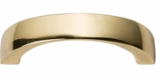 Atlas Homewares - 397-FG - Tableau Curved Handle 1 7/8 Inch - French Gold