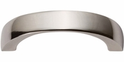 Atlas Homewares - 397-PN - Tableau Curved Handle 1 7/8 Inch - Polished Nickel