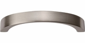 Atlas Homewares - 398-BN - Tableau Curved Handle 2 1/2 Inch - Brushed Nickel
