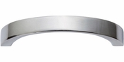 Atlas Homewares - 398-CH - Tableau Curved Handle 2 1/2 Inch - Polished Chrome