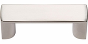 Atlas Homewares - 400-PN - Tableau Squared Handle 1 7/16 Inch - Polished Nickel