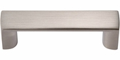Atlas Homewares - 401-BN - Tableau Squared Handle 1 7/8 Inch - Brushed Nickel