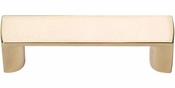 Atlas Homewares - 401-FG - Tableau Squared Handle 1 7/8 Inch - French Gold