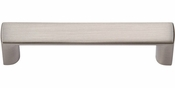 Atlas Homewares - 402-BN - Tableau Squared Handle 2 1/2 Inch - Brushed Nickel