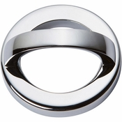 Atlas Homewares - 405-CH - Tableau Round Base and Top 1 7/8 Inch - Polished Chrome