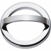 Atlas Homewares - 406-CH - Tableau Round Base and Top 2 1/2 Inch - Polished Chrome