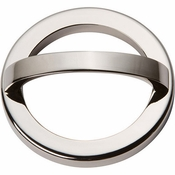 Atlas Homewares - 406-PN - Tableau Round Base and Top 2 1/2 Inch - Polished Nickel