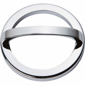 Atlas Homewares - 407-CH - Tableau Round Base and Top 3 Inch - Polished Chrome