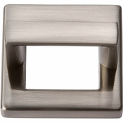 Atlas Homewares - 408-BN - Tableau Square Base and Top 1 7/16 Inch - Brushed Nickel