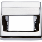 Atlas Homewares - 408-CH - Tableau Square Base and Top 1 7/16 Inch - Polished Chrome