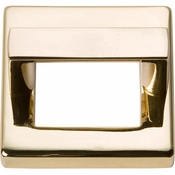 Atlas Homewares - 408-FG - Tableau Square Base and Top 1 7/16 Inch - French Gold