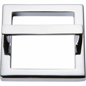 Atlas Homewares - 410-CH - Tableau Square Base and Top 2 1/2 Inch - Polished Chrome