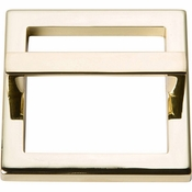 Atlas Homewares - 410-FG - Tableau Square Base and Top 2 1/2 Inch - French Gold
