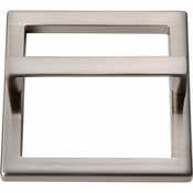 Atlas Homewares - 411-BN - Tableau Square Base and Top 3 Inch - Brushed Nickel