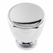 Atlas Homewares - 412-CH - Conga Knob 1 1/8 Inch - Polished Chrome
