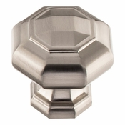 Atlas Homewares - 418-BRN - Elizabeth Knob 1 1/4 Inch - Brushed Nickel