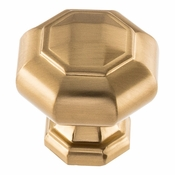 Atlas Homewares - 418-WB - Elizabeth Knob 1 1/4 Inch - Warm Brass