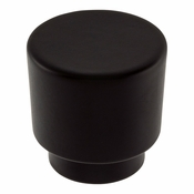 Atlas Homewares - 426-BL - Tom Tom Knob 1 1/4 Inch - Matte Black