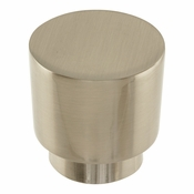 Atlas Homewares - 426-BRN - Tom Tom Knob 1 1/4 Inch - Brushed Nickel