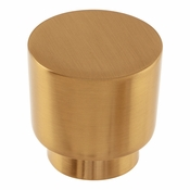 Atlas Homewares - 426-WB - Tom Tom Knob 1 1/4 Inch - Warm Brass
