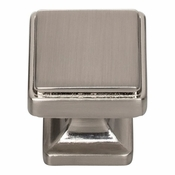 Atlas Homewares - A200-BRN - Kate Knob 1 1/8 Inch - Brushed Nickel