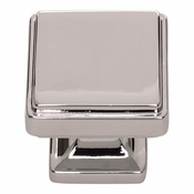 Atlas Homewares - A201-CH - Kate Knob 1 1/4 Inch - Polished Chrome